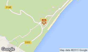 Mapa Narbonne praia Vivenda 82937