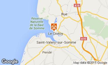 Mapa Le Crotoy Casa 78797