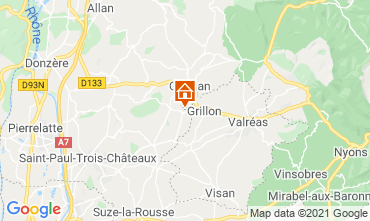 Mapa Grignan Casa 106649