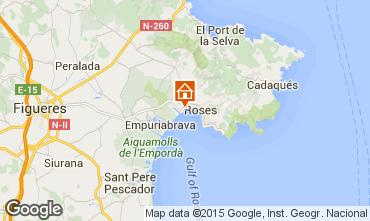 Mapa Rosas Apartamentos 91580