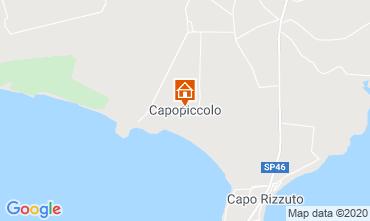 Mapa Isola di Capo Rizzuto Apartamentos 72903