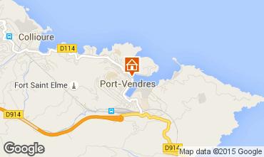Mapa Port Vendres Apartamentos 41483