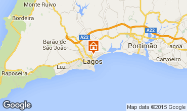 Mapa Lagos Apartamentos 98422