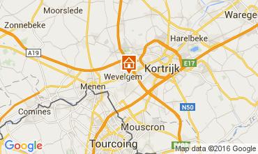 Mapa Kortrijk Casa de turismo rural/Casa de campo 80282