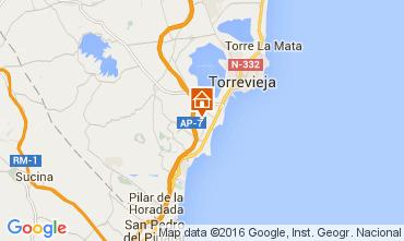 Mapa Torrevieja Casa 104797