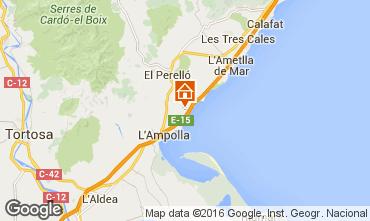 Mapa La Ametlla de Mar Casa 102804