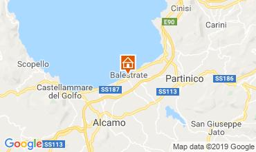 Mapa Balestrate Apartamentos 53262