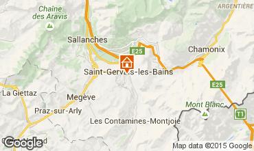 Mapa Saint Gervais Mont-Blanc Apartamentos 75031