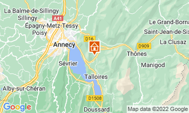 Mapa Annecy Apartamentos 67836