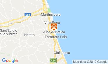 Mapa Alba Adriatica Apartamentos 118596