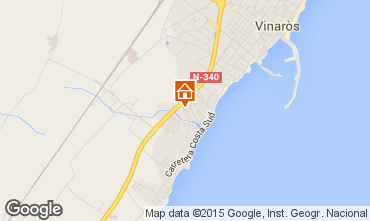Mapa Vinaròs Apartamentos 82363