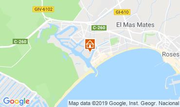 Mapa Rosas Apartamentos 114884