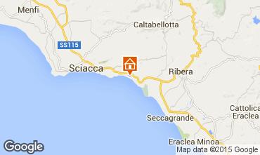 Mapa Sciacca Apartamentos 78292