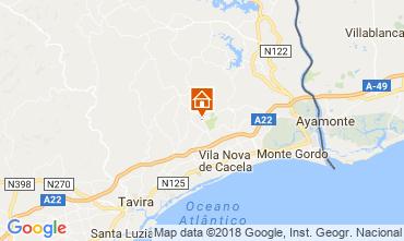 Mapa Tavira Vivenda 113823