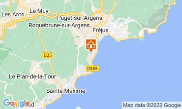Mapa Les Menuires Chalé 73309