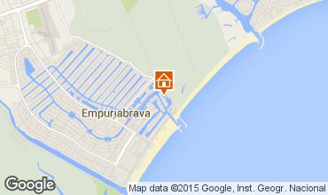 Mapa Empuriabrava Apartamentos 94510