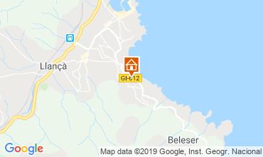 Mapa Llança Apartamentos 119631