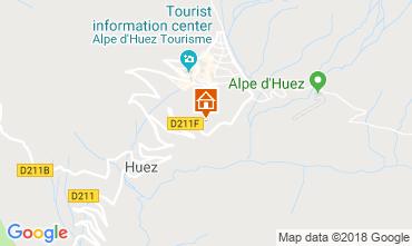 Mapa Alpe d'Huez Apartamentos 117471