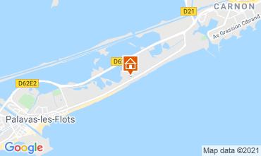 Mapa Palavas-les-Flots Apartamentos 67533