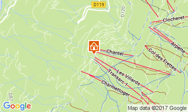 Mapa Les Arcs Estúdio 107099