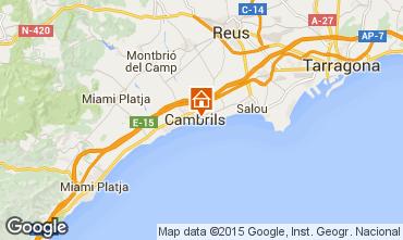 Mapa Cambrils Apartamentos 69014