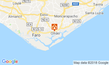 Mapa Olhão Casa 116810