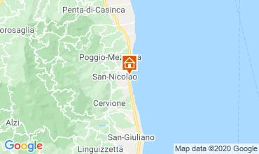 Mapa Moriani Plage Apartamentos 75346