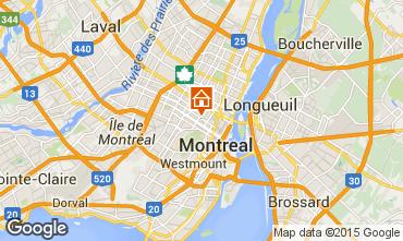 Mapa Montreal Apartamentos 94062