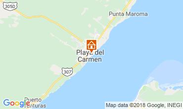Mapa Playa del Carmen Estúdio 116454