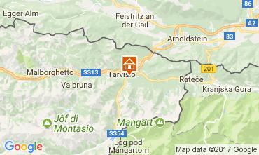 Mapa Tarvisio Chalé 111451