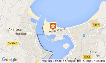 Mapa Hendaye Casa 79682