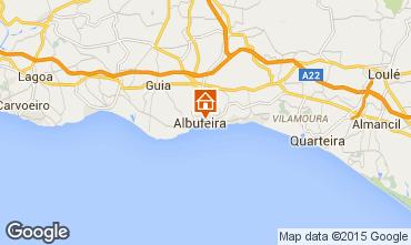 Mapa Albufeira Apartamentos 36755