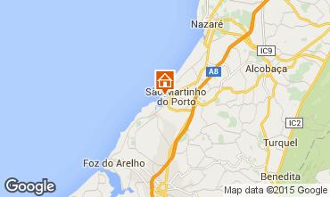 Mapa São Martinho do Porto Apartamentos 74218