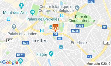 Mapa Bruxelas Apartamentos 119925