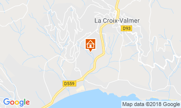 Mapa Saint Tropez Apartamentos 84827
