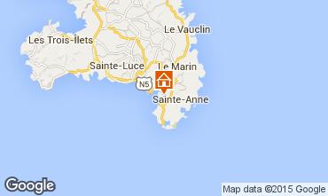 Mapa Sainte Anne (Martinique) Estúdio 84011