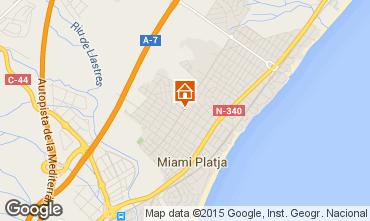 Mapa Miami Playa Casa 86082