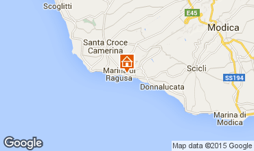Mapa Marina di Ragusa Apartamentos 30110