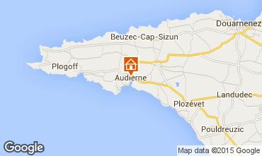 Mapa Audierne Apartamentos 60237