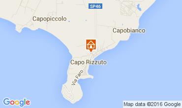 Mapa Isola di Capo Rizzuto Apartamentos 81850