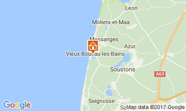 Mapa Vieux Boucau Apartamentos 72746
