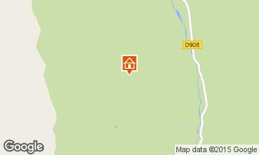 Mapa Val d'Allos Chal� 79776