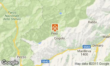 Mapa Peio (Pejo) Apartamentos 91284
