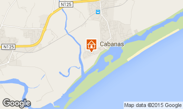 Mapa Cabanas de Tavira Apartamentos 63616