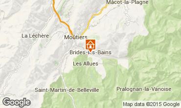Mapa Brides Les Bains Apartamentos 67353