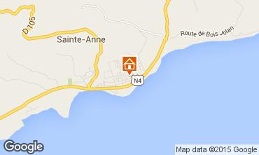 Mapa Sainte Anne (Guadalupe) Apartamentos 66397