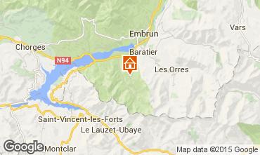 Mapa Embrun Chal� 97867