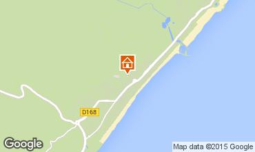 Mapa Narbonne praia Vivenda 9173