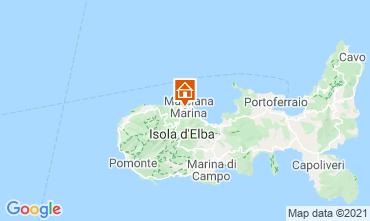 Mapa Marciana Marina Apartamentos 19880