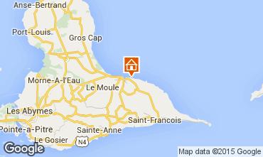 Mapa Le Moule Apartamentos 98787